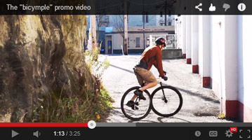 bicymple video production